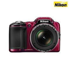 Nikon CoolPix L830 16MP 1080p 34x Zoom Digital Camera & Accessories at 40% Savings off Retail!