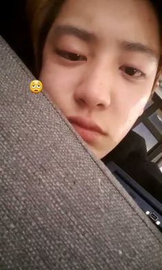 Chanyeol's instagram story.   He looks so tired🙀