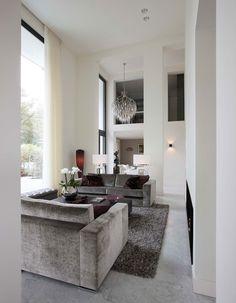 Innenarchitektur modernes wohnen  Klassische Architektur und modernes Wohnen in Einem | Architecture ...