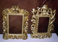 24 Gold Baroque Picture Frames