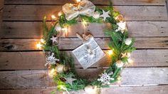 Natural Christmas crochet snowflake ( garland )  Vanillè