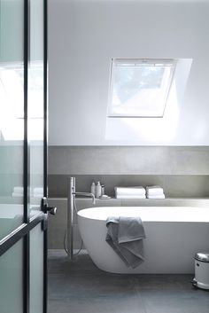 Bathroom | A Stone House in Brittany by Jean-Luc Etienne | est living