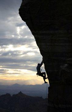 rock climbing ... extreme