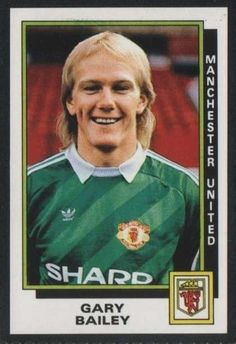 MANCHESTER UNITED - GARY BAILEY