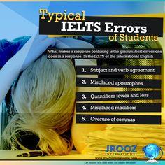 Typical IELTS Errors of Students #JroozIntl #IELTSOnlineCourse #IELTSOnlinePreparation #IELTSOnlineReview #IELTSOnline #IELTSOnlineTraining