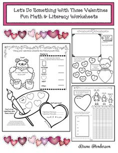Come Do Some Valentine Party Day Activities With Me Do your kiddos rip into their valentines and are done with that activity in about 5 minutes,. Fun Activities To Do, Valentines Day Activities, Writing Activities, Fun Math Worksheets, Math Literacy, Valentine Cards, Saving Time, Something To Do, Students
