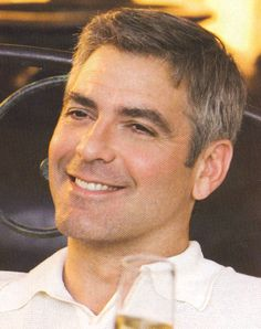 George Clooney hair cut for men