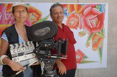 Alejandro Rossi y Rosamaría Álvarez-Gil, director y productora.