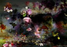 Isabelle Menin Finalist, LensCulture Earth Awards: A jumble of flowers seems to float in a sea of liquid color, their images echoed on reflective surfaces —vibrant, blooming metaphors for the overflowing human spirit Contemporary Photography, Abstract Photography, Amazing Photography, Contemporary Art, Underwater Photography, Nude Photography, Landscape Photographers, Flower Art, Art Flowers