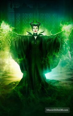 Maleficent - Promotional art with Angelina Jolie