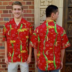NEW Beachdude, Inc. licensed TIKI Aloha Shirt for University of Southern California