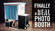 Finally. A Real Photo Booth.The single other best thing at our wedding.  Best. Guestbook. Ever!