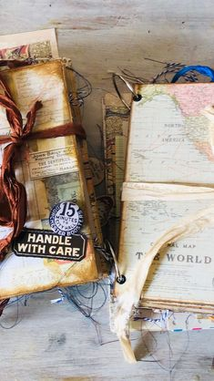 "Tonya Samuels on Instagram: ""These journals are using @tim_holtz papers they come with an ephemera pack.They have 2 blank journals attached. Both have been Sold!Thank…"" Tim Holtz, Being Used, Ephemera, Journals, Paper, Instagram, Diaries, Journal, Logs"