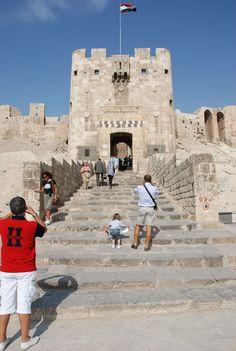https://flic.kr/p/7acz8t | Halep Kalesi (Citadel of Aleppo)