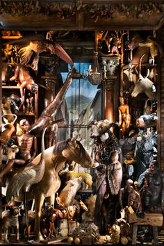 """Bergdorf's """"Carnival of the Animals"""" Holiday 2012 Window"""