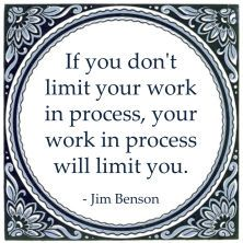 work in process limit wip jim benson Work Related Quotes, Work Quotes, Great Quotes, Knowledge Management, Change Management, Lean Process Improvement, Inspiring Quotes About Life, Inspirational Quotes