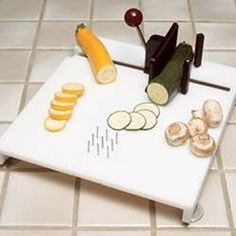 Swedish Cutting Board - (specially designed for one-handed use!)