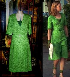 1940's The Notebook Dress by Moviegowns on Etsy, $99.00
