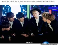 Suga looks like so done with his lifeuu! BTW I'am Suga in a group so... | allkpop Meme Center