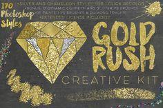 20% Off Gold Rush Creative Kit by Studio Denmark on Creative Market