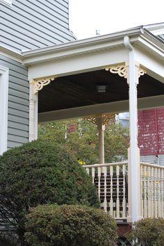 Avenida porch bracket by Durabrac Porch Brackets, Porches, Pergola, Outdoor Structures, Outdoor Decor, Home Decor, Front Porches, Decoration Home, Room Decor