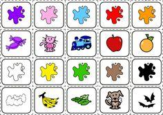 BRINCAR e APRENDER: Jogos de Memória das Cores