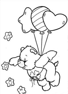 Care Bears Coloring Pages . 28 Beautiful Care Bears Coloring Pages . Free Printable Care Bear Coloring Pages for Kids Teddy Bear Coloring Pages, Coloring Pages For Girls, Disney Coloring Pages, Coloring Pages To Print, Coloring Book Pages, Coloring For Kids, Printable Coloring Pages, Coloring Sheets, Care Bear Tattoos