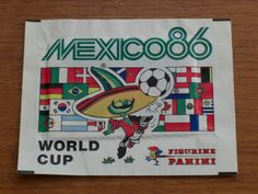 Panini Football Stickers - World Cup 86