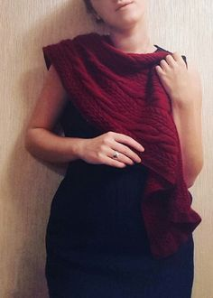 Scarf/shawl for my mother.