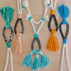 #ropenecklace #rope #jewellery_kc #aussielocalshopper #australianhandmade #tassel #tasselnecklace #statementnecklace by kelaoke