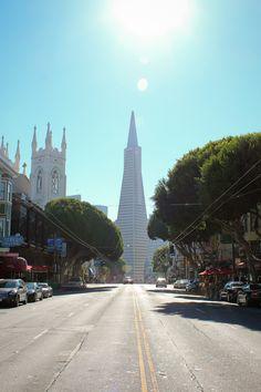 The TransAmerica Building, San Francisco