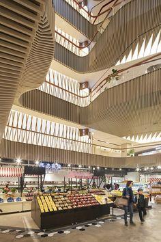 Lane 189 - UNStudio #interior #shopping #mall