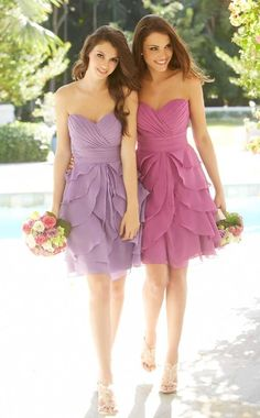 pretty bridesmaid dresses