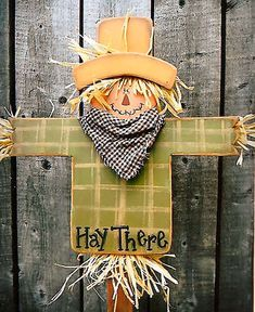 200046 (3) Hay There Mini Stake-fall, yard stake, Beein creative with Mis, wood kits, wood parts, wood crafts, crafts, patterns