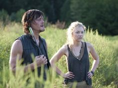 'The Walking Dead' Recap: What's Happened to the Rest of the Survivors? Feb 2014 / photo: Daryl Dixon with Beth Greene