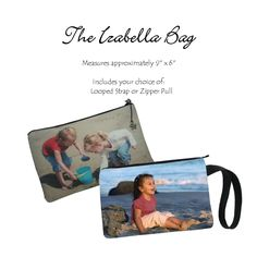 The Izabella Bag  #uniquephotobags #uniquegift #photobag #photopurse #keepsake #memorablekeepsake