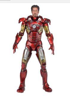 "Battle damage iron man(Tony Stark 1/4 scale (18"" tall)"