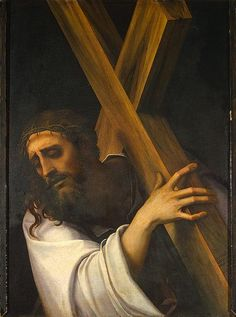 36 best christ carrying his cross images on pinterest religious