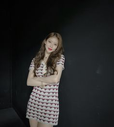 Black Swan, Short Sleeve Dresses, Asian, Shirt Dress, Female, Pretty, Shirts, Kpop, Korean