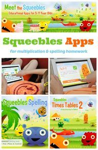 Squeebles Times Tables 2 is pretty good, I especially like the opportunity to repeat only the ones you miss. Available on IOS, Android and Kindle (for $1.99)