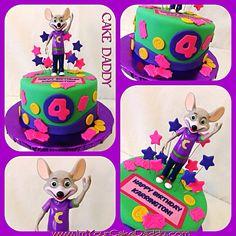 Chuck E. Cheese birthday cake!