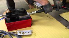 Air Hydraulic Pump PA1500L with remote control