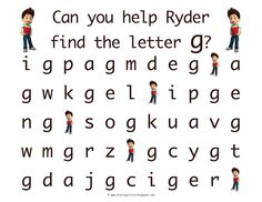 Free Paw Patrol Learn To Write And Letter Recognition Printable