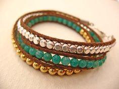 wrapped cord bracelet