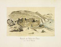 """""""Ruines du Palais de l'Inca,"""" Paul Fédéric Chalon, 1872-1880"""