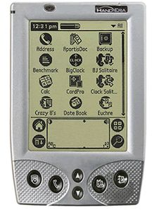 My first PDA was a Handera 330 acquired in 2001. It ran Palm OS 3.5.3