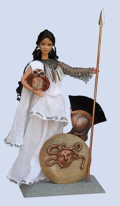 Athena Grey Eyes - OOAK fashion dolls by VALKYRIE