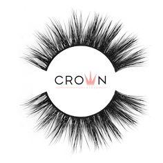 Crown Lashes Mink Fake Eyelashes in style Cil-Vous-Plait Silk Lashes, Fake Lashes, 3d Mink Lashes, Long Lashes, False Eyelashes, Applying False Lashes, Applying Eye Makeup, Makeup Mistakes, Evening Makeup