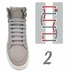 Tennis Shoe Style 2 Source by Ways To Lace Shoes, How To Tie Shoes, Diy Fashion, Fashion Shoes, Mens Fashion, Ways To Tie Shoelaces, Lace Patterns, Lace Design, Diy Clothes