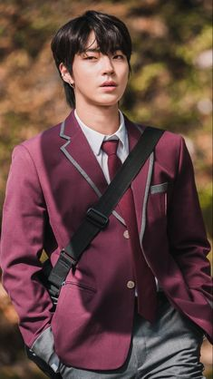 Attractive Male Actors, Handsome Korean Actors, Beautiful Boys, Pretty Boys, Beauty Uniforms, Korean Drama List, Kim Young, Cute Boys Images, Kdrama Actors